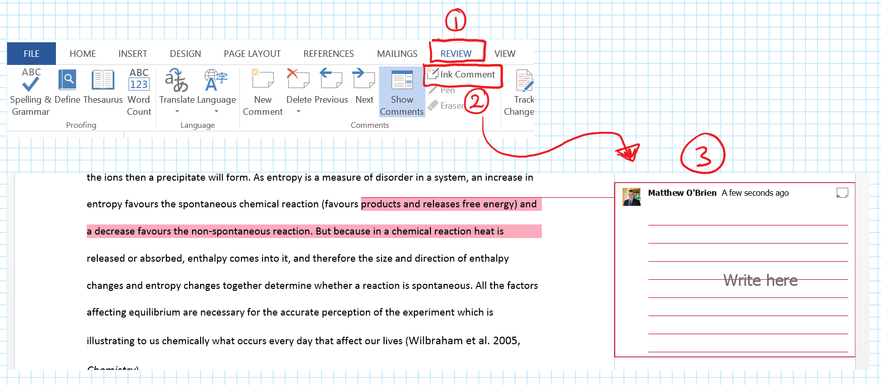 So There You Have It €� Annotation In Word Is Easy Next Time We'll Jump To  Excel And Look At Annotations Uses Within A Spreadsheet Package
