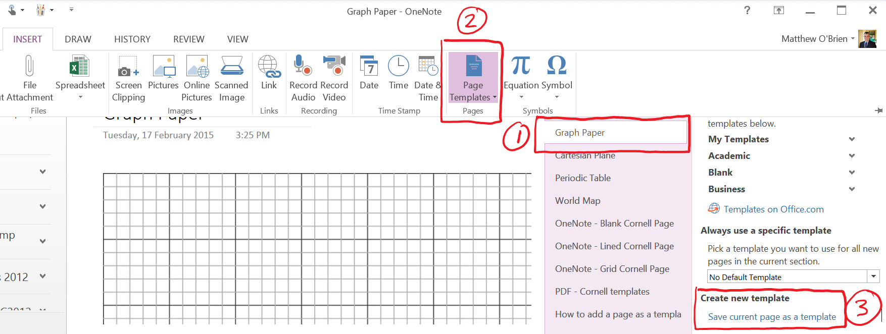 onenote templates technological teaching timesaver tools
